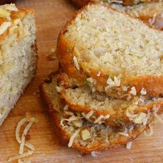 Jamaican Lime Banana Bread - recipes calls for only one banana, but I would add more to get more banana flavour. Maybe try without the rum to get more lime taste. This was better the next day!