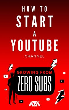 A Beginner's Guide on How to Create & Grow a YouTube Channel from Zero Subscribers Computer Internet, Kindle App, Machine Learning, Zero, Ebooks, Channel, Reading, Create, Youtube