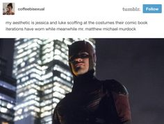 And this massive difference. | 19 Tumblr Posts That Are Way Too Funny For Anyone Who's Watched Netflix's Marvel Shows