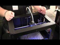 Maker Faire 2012 New York - Attack of The 3D Printer Bots