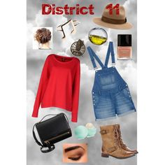 Catching Fire District 11