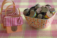 """Here are a few fun ideas, including """"Going on a Bear Hunt"""" for some small prizes.  I also love the paper bag picnic baskets!  #FRG"""