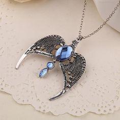 Harry Ravenclaw Potter Necklace Horcrux Vintage Antique Silver Eagle Crown Diadem Pendant Jewelry For Women Wholesale  FREE Shipping //     Get it here ---> http://www.smartestdiscount.com/harry-ravenclaw-potter-necklace-horcrux-vintage-antique-silver-eagle-crown-diadem-pendant-jewelry-for-women-wholesale/    #hellokittylover #FlashbackFriday #captainamericacivilwar #marvel #manga #daenerystargaryen #harrypotterfilm #borutoshippuden #starwarstoys #touka #batman