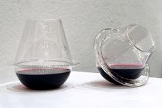 Unspillable wine glass!