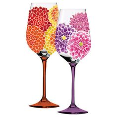 Dahlia Wine Glass (Set of 4)