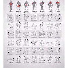 Workout chart