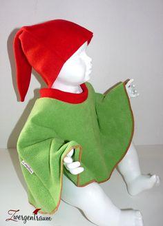 Kostüme für Kinder - Zwerg Kostüm - Alle Farben Gr. 74-164 Wichtel - ein Designerstück von Zwergentraum-Shop bei DaWanda
