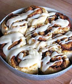 Quick & Easy {No Yeast!} Cinnamon Rolls - Creme De La Crumb (basically these are a biscuit dough--maybe use this for the dippers)