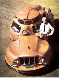 Skurrile Autos der Geschichte - bizarre cars: Sir Vival (1958)  http://www.autorevue.at/motorblog/skurrile-autos-der-geschichte-3-sir-vival.html