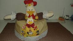 cobre bolo galinha