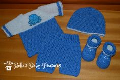 Baby Boy Outfit by BellasBabyTreasures on Etsy