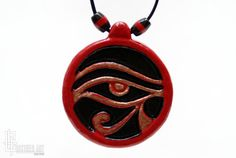 Egyptian Jewelry  Eye of Horus Egyptian Necklace  by CristherArt