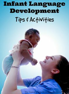 Parents can do so much at home to encourage their infant's language development. These tips are great for parents of babies to try at home. Good tips for play ideas with baby!