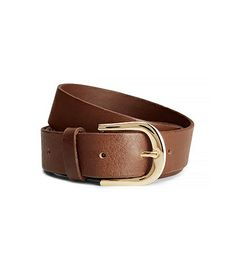 @Who What Wear - H&M Leather Belt ($18)  This versatile brown belt will not only complete your Kelly-inspired ensemble, but will also most likely pair with almost everything in your closet.