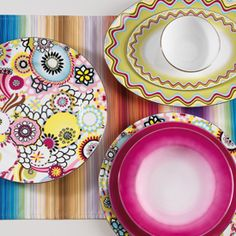 Missoni Home Margherita Tableware from Wedding List Co - The Leading Bridal Registry Specialist