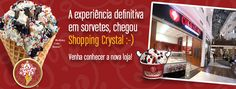 Grand Opening Cold Stone Creamery - loja Shopping Crystal - Curitiba
