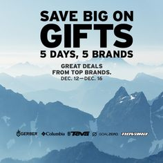 REI Deal: Act fast to scoop up limited-time deals from top brands, now until Dec. 16. Check REI.com for all the details.
