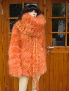 Thick Sweaters, Fur Coat, Jackets, Fashion, Down Jackets, Moda, Fashion Styles, Fashion Illustrations, Fur Coats