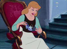 Screencap Gallery for Cinderella (1950) (1080p Bluray, Disney Classics). In a far away, long ago kingdom, Cinderella is living happily with her mother and father until her mother dies. Cinderella's father remarries a cold, cruel