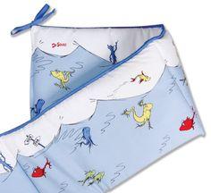 Dr. Seuss 1 Fish 2 Fish Bumper