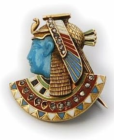 egyptian revival jewelry and design | KIng Tut has Nothing on These Egyptian Revival pieces