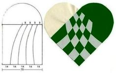 Braiding traditional Scandinavian Christmas hearts can be as simple as braiding two times two loops of paper into each other. (found at fest-tips.dk) Or you can make it a bit more complicated a… Paper Crafts Origami, Paper Quilling, Christmas Hearts, Christmas Fun, Valentines Art, Valentine Gifts, Paper Weaving, Picasa Web Albums, Quilling Designs