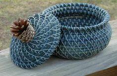 Pine Needle Baskets