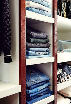 6 easy steps towards a complete closet makeover — LA Closet Design on @SavvyHome