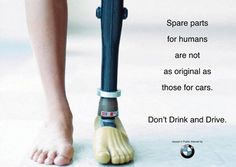 BMW: Don't drink and drive