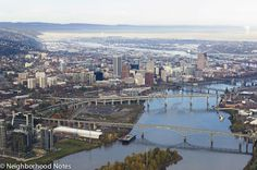 Portland's really easy to navigate. And it's pretty easy on the eyes!