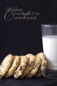 Grain-free low carb 'oatmeal' cookies, just like Grandma used to make! Okay, not exactly, but a healthy stand in for oats makes these cookies taste like the real thing. Okay, you caught me. There is…More Guilt Free Low Carb Chocolate Dessert Ideas Low Carb Sweets, Low Carb Desserts, Low Carb Recipes, Keto Foods, Keto Snacks, Oatmeal Chocolate Chip Cookie Recipe, Oatmeal Cookies, Chocolate Chips, Cookies Snickerdoodle