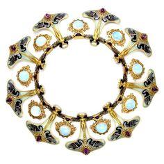 Swan necklace Rene Lalique
