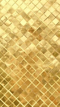 Golden tiles - very chique! Metal Element - An Sterken - Feng Shui expert - www. Iphone 5 Wallpaper, Wallpaper Backgrounds, Gold Wallpaper, Chic Wallpaper, Bild Gold, Gold Everything, Gold Aesthetic, Stay Gold, Shades Of Gold