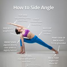 Your guide to Utthita Parsvakonasana ✌️ What are your favorite tips for Side Angle Pose?