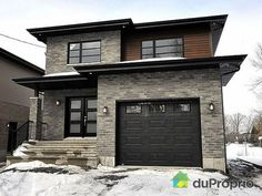 Newly-built House for sale in Brossard, 960, rue Robert | DuProprio