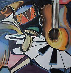 Saatchi Online Artist Jacques Drouin; Painting, Jazz #art