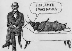 Freud and the cockroach.
