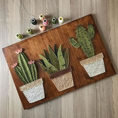 Take a look at these 12 very inspiring String Art models - Decoration - Tips and Crafts String Art Diy, String Art Tutorials, String Crafts, String Art Patterns, Resin Crafts, Doily Patterns, Home Crafts, Diy And Crafts, Arts And Crafts