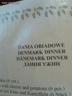 A na obiad Dania