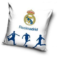 Obliečka na vankúš s motívom Realu Madrid - domtextilu. Madrid, Bed Pillows, Pillow Cases, Pillows
