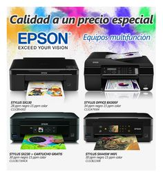 EPSON, las máquinas del color
