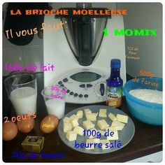 Reportage photo de la brioche moelleuse 1000 Mercis, Dessert Thermomix, Happy Cook, Diy Projects To Try, Biscuits, Brunch, Cooking, Reportage Photo, Table