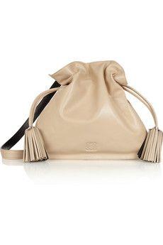 Loewe Flamenco 30 leather shoulder bag | NET-A-PORTER