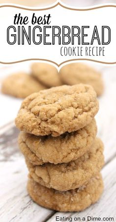 Skip the old fashion Gingerbread cookies. Try this delicious soft and chewy gingerbread cookies recipe today. It wont disappoint! Soft Cookie Recipe, Ginger Bread Cookies Recipe, Meat Loaf Recipe Easy, Ginger Cookies, Yummy Cookies, Cookie Recipes, Dessert Recipes, Cookies Soft, Desserts