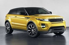 Land Rover Evoque Sicillian Yellow