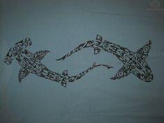 tribal shark tattoo - Google Search