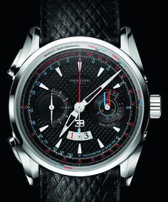 Parmigiani Bugatti Aerolithe Performance Titanium Watch