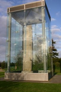 Sueno Stone, Forres - standing 22ft tall, this is the largest known Pictish sculptured stone in Europe
