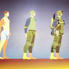 #art #designer #graphic #graphicdesign #illustration #ilinten #dorguev #sakha #russia #ilinten #exeq #still #ambition #soldier #army #ammo #military #infographic
