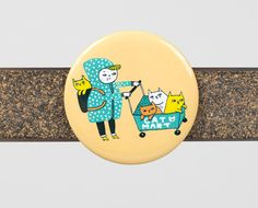 Cat Mart magnet - Buy Olympia $4.00